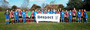Faversham Town Elizabethans and Castle Colts Ladies