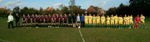 Park Farm Rangers U15s and Thanet Colts U15s