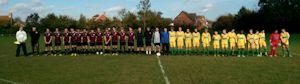 Park Farm Rangers U15s and Thanet Colts U15s